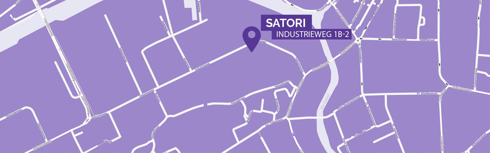 Adres van Satori - Burgemeester van Roijensingel 6 in Zwolle